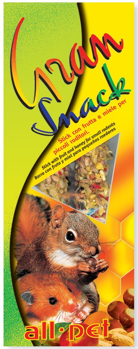 Gran snack - 110 g Frutta e Miele per Piccoli Roditori
