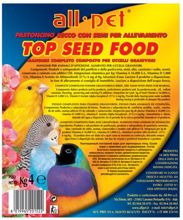 Top seed food - 4 kg