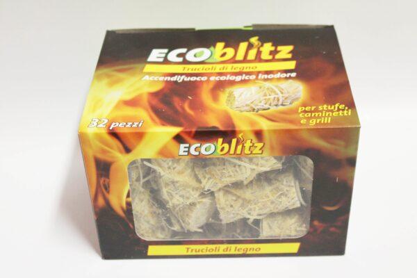 Truciolo accendifuoco ecologico 32pz