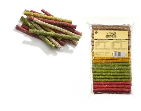 Osso cannoli colorati - 100 pz