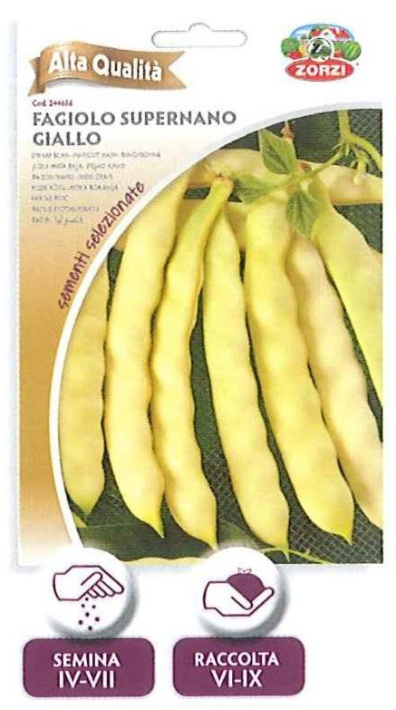 Fagiolo super nano giallo - 65gr
