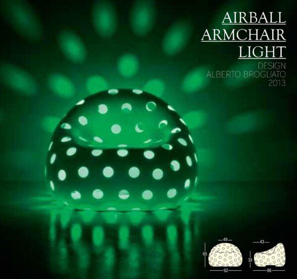 Airball Armchair Light