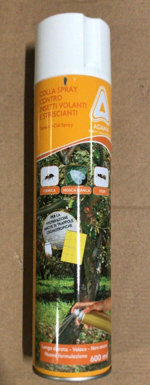 Colla Spray contro insetti volanti e striscianti - 600 ml